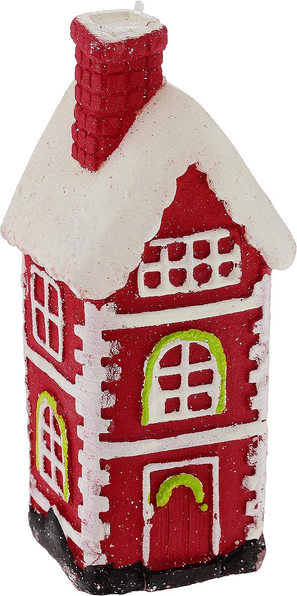 Свеча праздничная Erich Krause Пряничный домик, высота 12,5 см