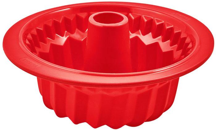 Tefal J4096814 форма для куличаJ4096814Форма Tefal J4096814 сделана из платинового силикона премиального качества. При изготовлении платинового силикона в качестве катализатора используется платина, что позволяет существенно улучшить его качество.Форма выдерживает разные температуры: от -40°C до +250°C. Ее можно ставить в духовку, холодильник/морозильную камеру и мыть в посудомоечной машине. Силиконовую форму Tefal J4096814 не нужно смазывать маслом и ее очень легко мыть. Извлекать выпечку из формы очень удобно и просто. Каркас из нержавеющей стали предотвращает сгибание и позволяет удобно перемещать форму.Диаметр: 27 смВнутренний диаметр: 21 см