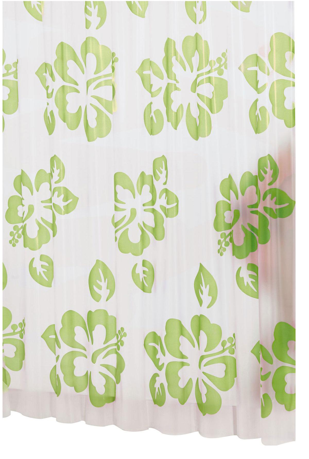 Штора для ванной комнаты Ridder Flowerpower, цвет: зеленый, 180 х 200 смшв_11984Высококачественная немецкая штора для душа создает прекрасное настроение.Продукты из эколена не имеют запаха и считаются экологически чистыми.Ручная стирка. Не гладить.