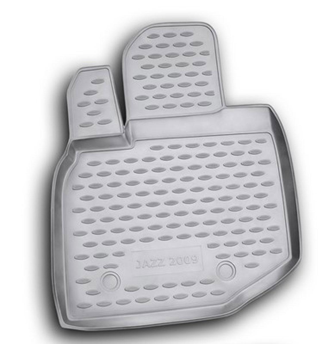 Коврик в салон автомобиля Novline-Autofamily для Honda Jazz, 2009 -, передний левыйCARLD00001kКоврик Novline-Autofamily улучшит внешний вид салона автомобиля и надежно убережет его от пыли, грязи и сырости, а значит, защитит кузов от коррозии. Полиуретановый коврик гладкий, приятный и не пропускает влагу. Полиуретановый автомобильный коврик произведен из высококачественного материала, который держит форму и не пачкает обувь. Коврик надежно крепится на полу и не скользит, что очень важно во время движения, особенно для водителя. Изделие из полиуретана надежно удерживает грязь и влагу, при этом всегда выглядит довольно опрятно. И чистится он очень просто: как при помощи автомобильного пылесоса, так и различными моющими средствами.