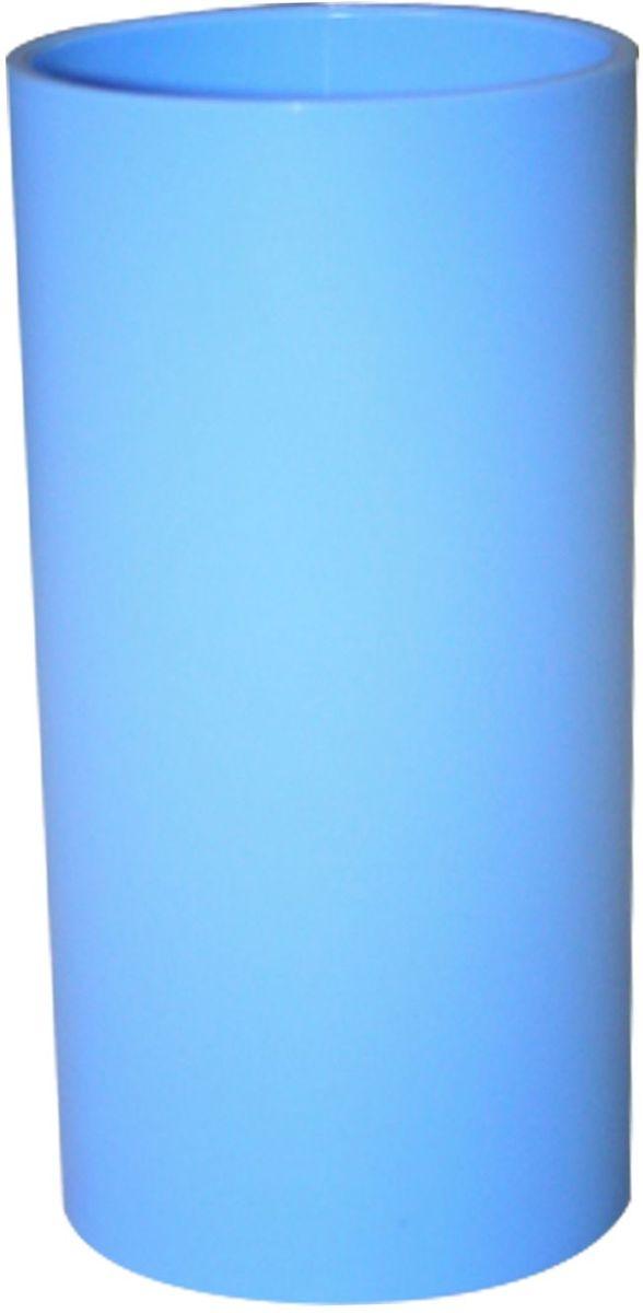Стакан для зубных щеток Proffi Home, цвет: голубой, 440 мл proffi шторка для ванной proffi home жасмин 180х200см