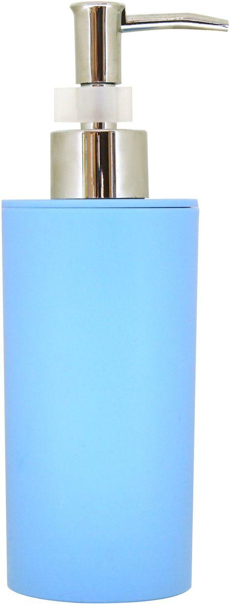 Диспенсер для жидкого мыла Proffi Home, цвет: голубой, 450 млRG-D31SДиспенсер Proffi Home - незаменимый аксессуар для тех, кто ценит чистоту своей раковины и экономный расход мыла. Вы можете легко переставлять его при необходимости. Этот диспенсер выполнен из качественного полипропилена, приятного на ощупь. Отличается легкостью и при этом устойчив. Благодаря лаконичной форме и хромированному носику такой аксессуар отлично впишется в любой интерьер ванной комнаты.