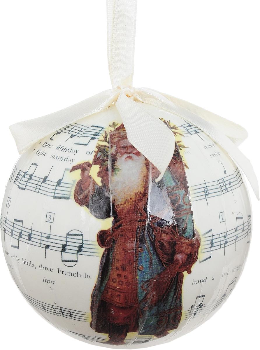 Новогоднее подвесное украшение Erich Krause Рождественская мелодия, диаметр 7,5 см