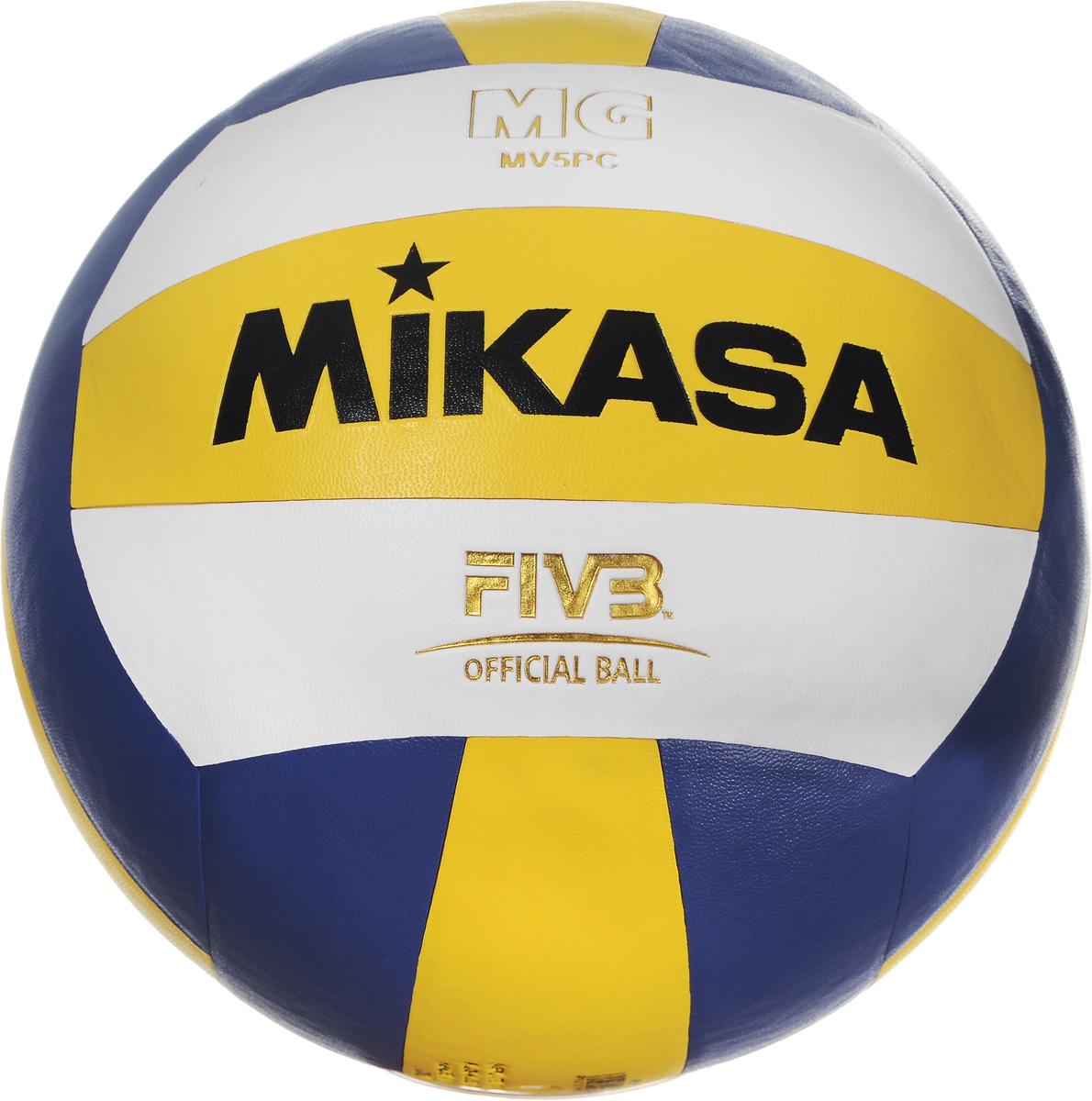 Мяч волейбольный Mikasa SKV5, цвет: синий, белый, желтый. Размер 5УТ-00009346Мяч Mikasa SKV5 имеет облегченный вес, что позволяет не беспокоится о травмах и избавится от страха прямого контакта с мячом. Он подойдет для тех, кто только знакомится с волейболом. Мяч изготовлен из очень мягкой пены (EVA), отличительной особенностью которой является отсутствие запаха, легкость и сохранение формы мяча, наряду с прочностью и долговечностью. Технология сшивки панелей TwinSTLock обеспечивает долговечность и прочность, как у клееного мяча. Камера выполнена из бутила.УВАЖЕМЫЕ КЛИЕНТЫ!Обращаем ваше внимание на тот факт, что мяч поставляется в сдутом виде. Насос в комплект не входит.