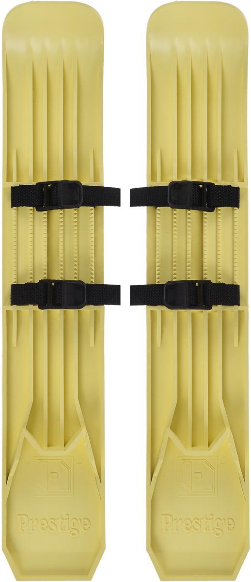 Мини-лыжи Престиж, цвет: салатовый, 53 смASE-611FМини-лыжи Престиж, выполненные из прочного пластика, отлично подойдут для катания детей в зимнее время года. Лыжи имеют насечку на скользящей поверхности и крепятся к обуви при помощи текстильных ремней с пластиковыми пряжками.Каждый ребенок, любящий проводить время на улице, будет рад мини-лыжам. Активные игры в мини-лыжах порой бывают гораздо интереснее, чем санки. А если ребенок старше пяти-шести лет, то можно на мини-лыжах кататься и с горок, но лучше со снежных и невысоких.Длина лыж: 53 см.Ширина лыж: 9,7 см.