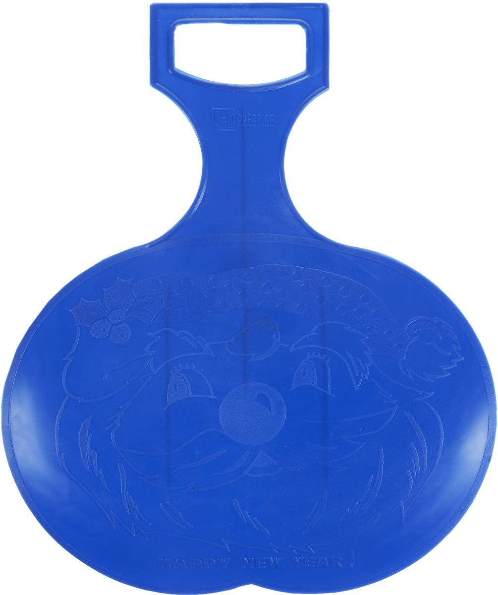 """Санки-ледянки """"Престиж"""", цвет: синий, 38 х 32 см"""