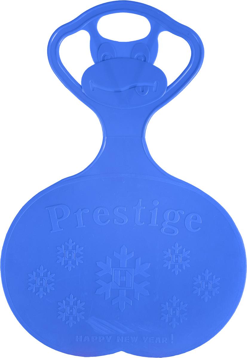 Санки-ледянки Престиж, с символикой, цвет: синий, 47 х 32 смПл-С90Любимая детская зимняя забава - это кататься с горки. Яркие санки-ледянки Престиж станут незаменимым атрибутом этой веселой детской игры. Изделие украшено рельефной символикой.Санки-ледянки - это специальная пластиковая тарелка, облегчающая скольжение и увеличивающая скорость движения по горке. Ледянка выполнена из прочного гибкого пластика и снабжена ручкой для переноски. Конфигурация санок позволяет удобно сидеть и развивать лучшую скорость. Благодаря малому весу ледянку, в отличие от обычных санок, легко нести с собой даже ребенку.