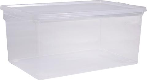 Ящик Idea, цвет: прозрачный, 50 лМ 2354Ящик Idea выполнен из прочного пластика и предназначен для хранения различныхпредметов. Вместительный ящик плотно закрывается при помощи крышки.Вместительный ящик позволит сохранить нужные вещи в чистоте и порядке, а герметичнаякрышка предотвратит случайное открывание, защитит содержимое от пыли и грязи.Размер ящика (с учетом крышки): 37,5 х 53 см х 30,5 см.Объем ящика: 50 л.