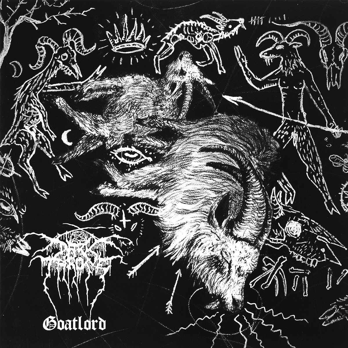 Darkthrone Darkthrone. Goatlord. Deluxe Edition (2 CD) jellyfish jellyfish spilt milk deluxe edition 2 cd