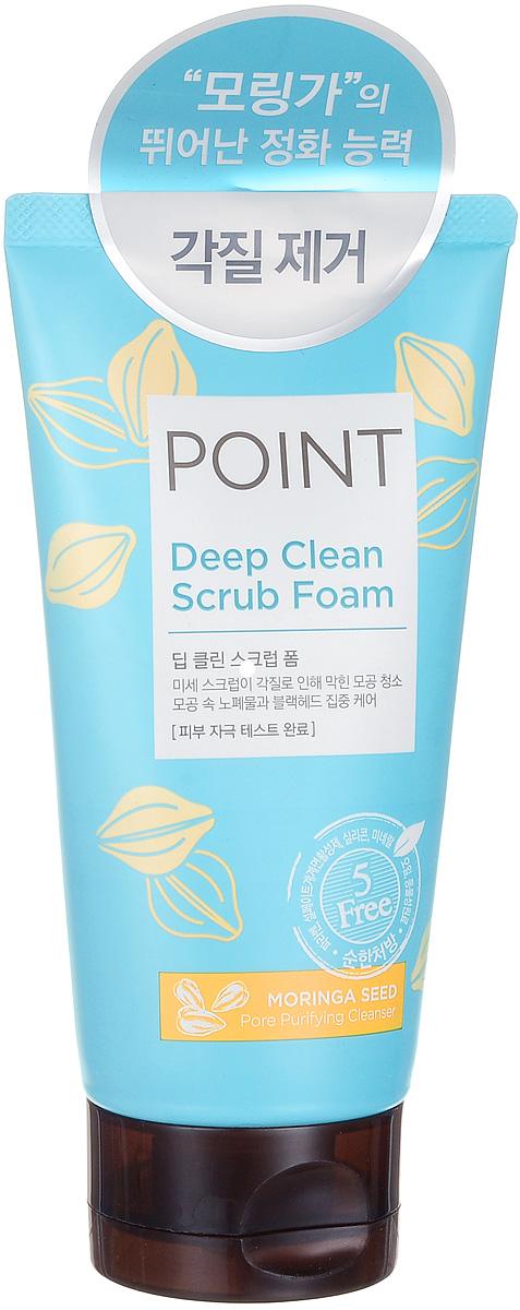 Point Пенка-скраб для умывания, для всех типов кожи, 150 гFS-00897Два вида микрогранул скраба и кремообразная структурамягко удаляют ороговевший слой иочищают поры от загрязнений. Органические очищающие компоненты – сапонины бережно, не вызывая раздражения, очищают кожу. Эффективно удаляет загрязнения и макияж, не допуская их повторного впитывания. Антиоксидантные свойства, входящих в состав экстрактов, защищают кожу от преждевременного старения. Кожа обретает свежий, безупречный, сияющий вид. Подходит для ежедневного применения. Не содержит красители, спирты, бензофенон, тальк и другие вредные ингредиенты. Характеристики:Вес: 150 г. Артикул: 984017. Производитель: Корея. Товар сертифицирован.