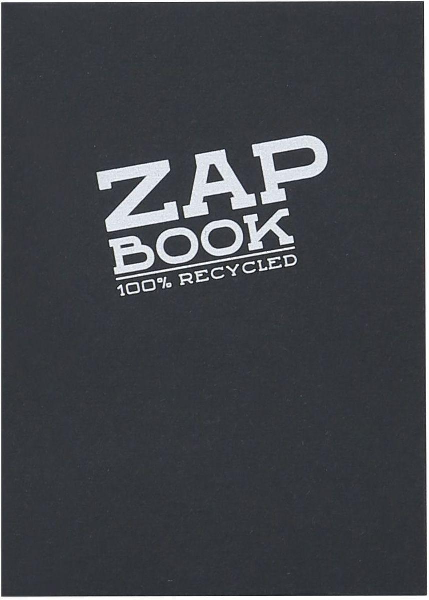 Блокнот Clairefontaine Zap Book, цвет: черный, формат A6, 160 листов. 3363С0911241Оригинальный блокнот Clairefontaine идеально подойдет для памятных записей, любимых стихов, рисунков и многого другого. Плотная обложкапредохраняет листы от порчи изамятия. Такой блокнот станет забавным и практичным подарком - он не затеряется среди бумаг, и долгое время будет вызывать улыбку окружающих.