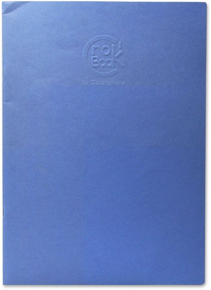 Блокнот Clairefontaine Crok Book, формат A3, 24 листа72523WDОригинальный блокнот Clairefontaine идеально подойдет для памятных записей, любимых стихов, рисунков и многого другого. Плотная обложкапредохраняет листы от порчи изамятия. Такой блокнот станет забавным и практичным подарком - он не затеряется среди бумаг, и долгое время будет вызывать улыбку окружающих.