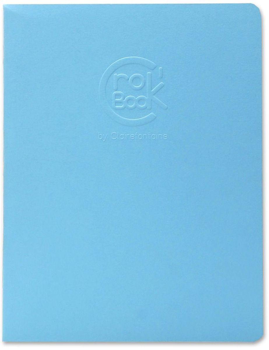 Блокнот Clairefontaine Crok Book, 17 х 22 см, 24 листа72523WDОригинальный блокнот Clairefontaine идеально подойдет для памятных записей, любимых стихов, рисунков и многого другого. Плотная обложкапредохраняет листы от порчи изамятия. Такой блокнот станет забавным и практичным подарком - он не затеряется среди бумаг, и долгое время будет вызывать улыбку окружающих.