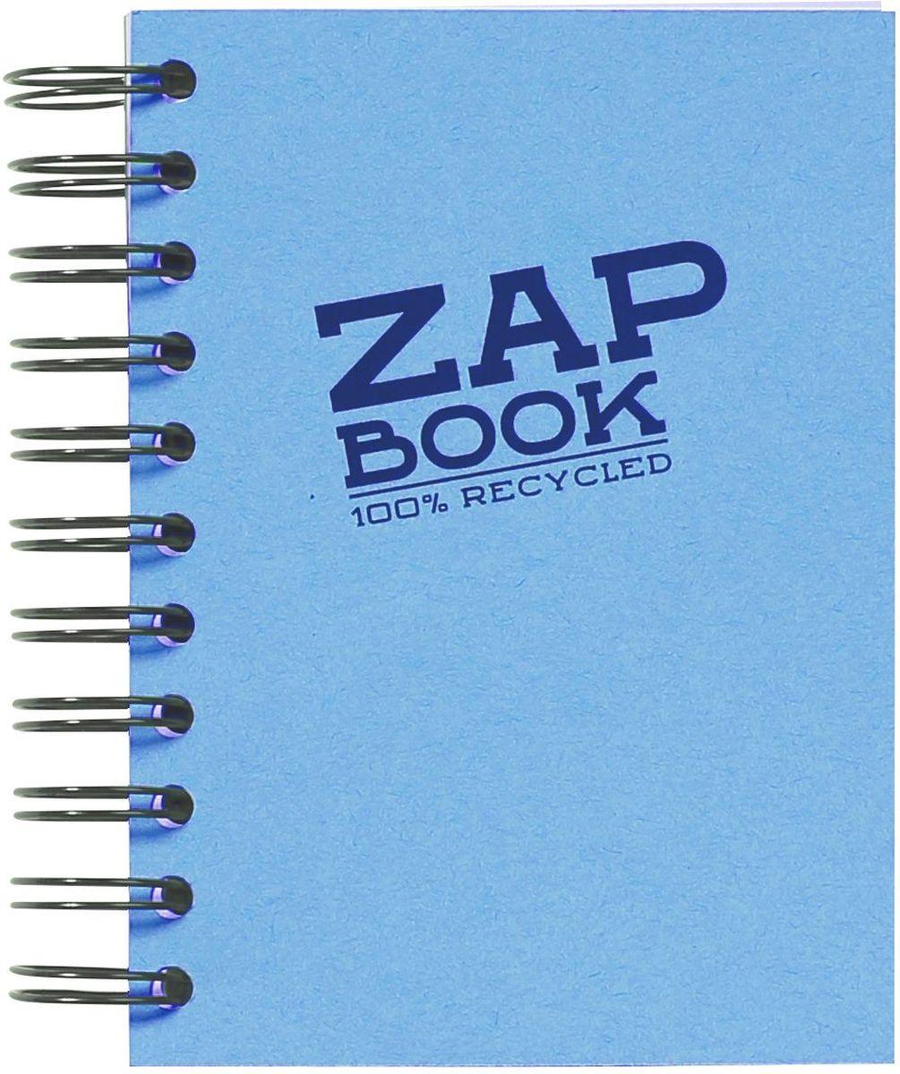 Блокнот Clairefontaine Zap Book, на спирали, цвет: голубой, формат A6, 160 листов72523WDОригинальный блокнот Clairefontaine идеально подойдет для памятных записей, любимых стихов, рисунков и многого другого. Плотная обложкапредохраняет листы от порчи изамятия. Такой блокнот станет забавным и практичным подарком - он не затеряется среди бумаг, и долгое время будет вызывать улыбку окружающих.