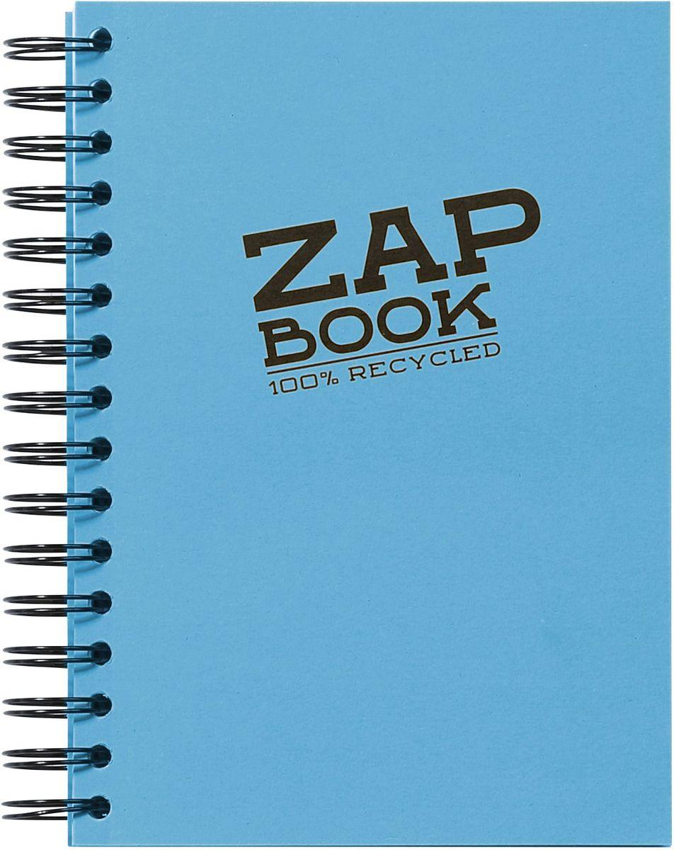 Блокнот Clairefontaine Zap Book, на спирали, цвет: голубой, формат A5, 160 листов72523WDОригинальный блокнот Clairefontaine идеально подойдет для памятных записей, любимых стихов, рисунков и многого другого. Плотная обложкапредохраняет листы от порчи изамятия. Такой блокнот станет забавным и практичным подарком - он не затеряется среди бумаг, и долгое время будет вызывать улыбку окружающих.