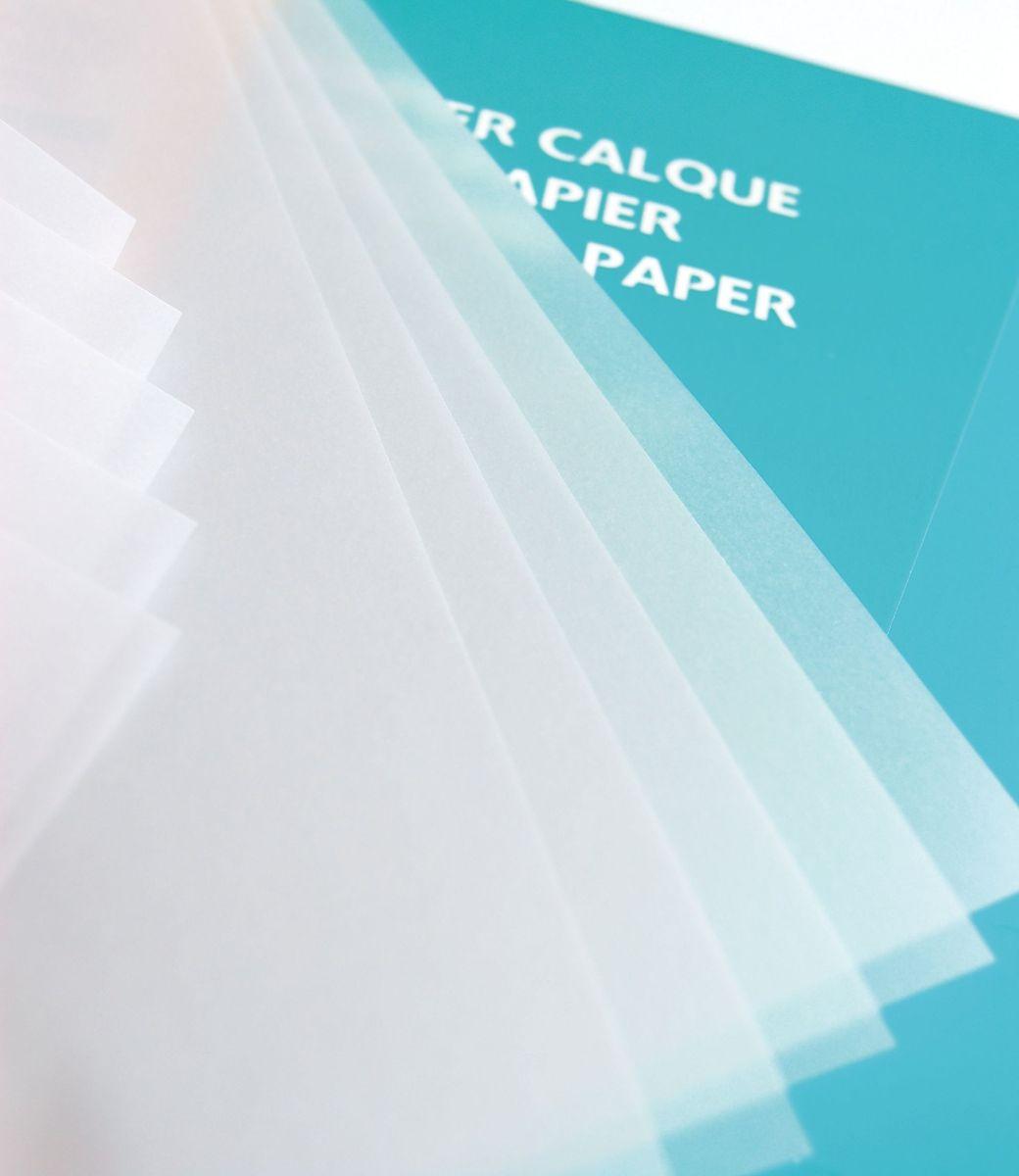 Калька Clairefontaine Calque, 50 х 65 см, 50 листов93950СНабор кальки CALQUE (50х65, 92г, 50л) 93950С