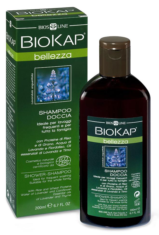 BioKap Шампунь-гель для душа Био, 200 млFS-00897Идеален для ежедневного использования. Основан полностью на натуральных био-компонентах. Обогащен комплексом витаминов и минералов, мягко очищает и дезодорирует, оставляя кожу гладкой, нежной и бархатистой. Не нарушая естественный гидролипидный баланс, придает волосам мягкость и сияние. Рекомендован для хорошего самочувствия и длительного ощущения свежести, придает энергию и жизненную силу. Имеет ЭКО Сертификат