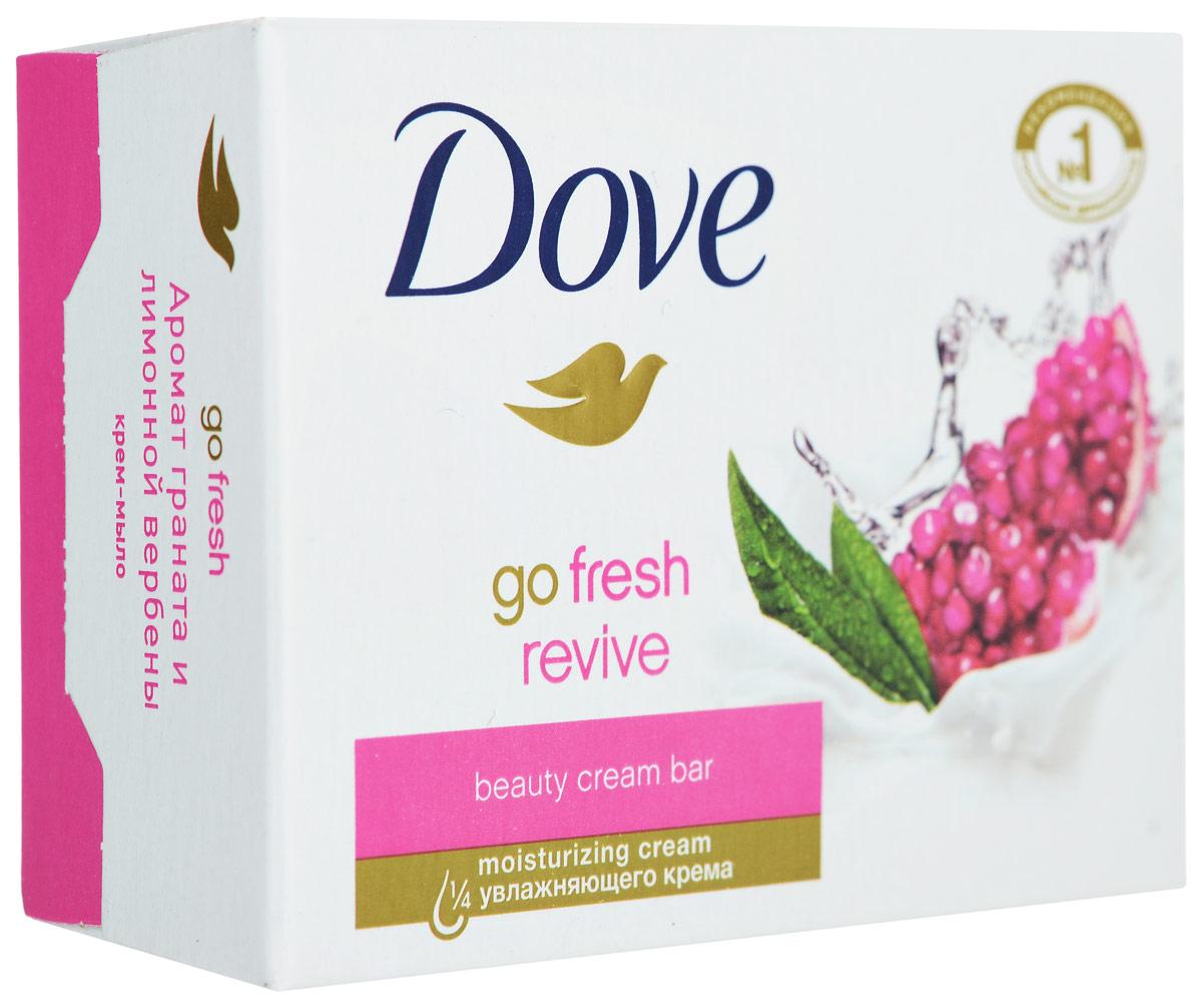 DOVE Крем-мыло Пробуждение чувств, 100 г67069894Крем-мыло Dove Пробуждение Чувств содержит мягкие очищающие компоненты и на 1/4 состоит из увлажняющего крема, благодаря чему ваша кожа получает питательные вещества во время процедуры очищения, что придает ей нежность и гладкость. Тонизирующий аромат граната и лимонной вербены дарят заряд бодрости и свежести. Делает кожу сияющей и нежной как шелк. Подходит для ежедневного использования для лица, тела и рук.