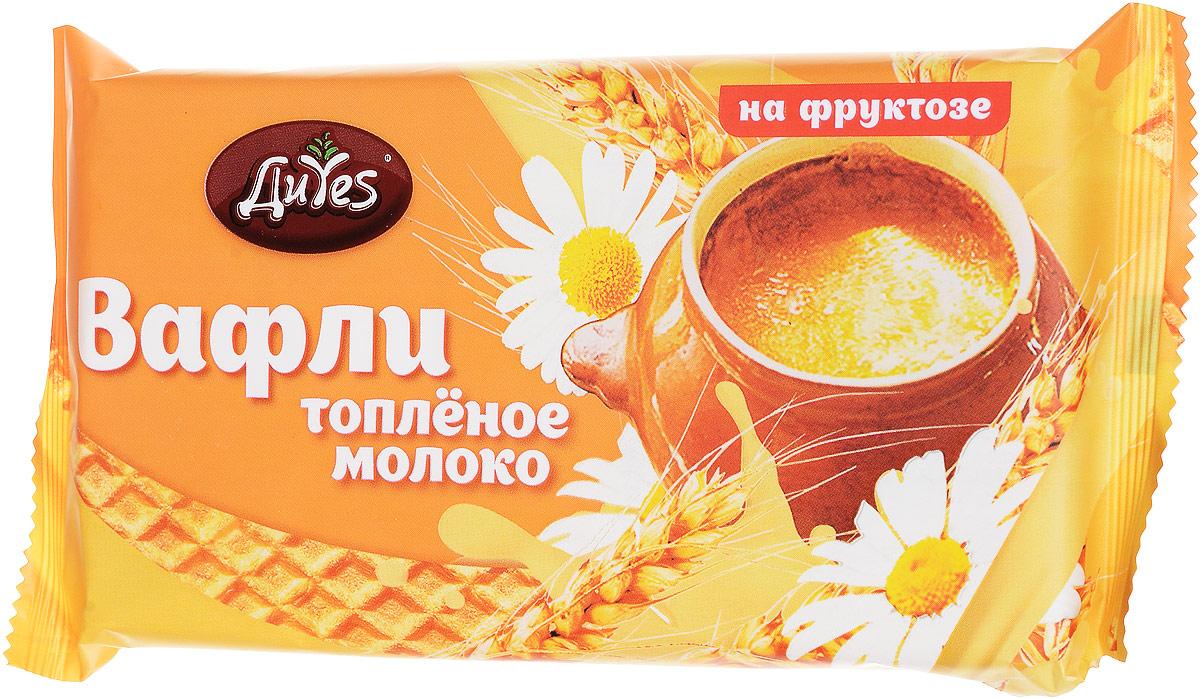ДиYes Вафли Топленое молоко на фруктозе, 90 г  недорого