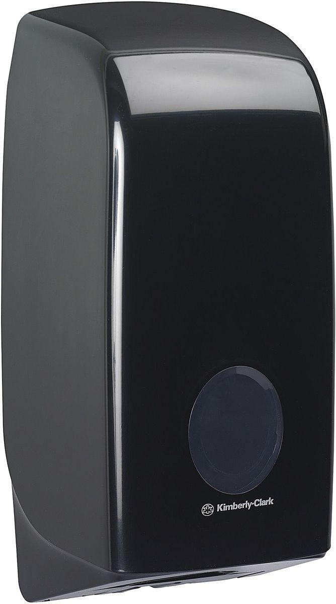 Диспенсер Aquarius, для сложенной туалетной бумаги, цвет: черный. 717268/5/3Ассортимент диспенсеров для сложенной туалетной бумаги из скоординированной линейки диспенсеров для туалетных комнат. Диспенсеры мотивируют сотрудников соблюдать гигиенические нормы, повышают уровень комфорта, демонстрируют заботу о персонале и помогают сократить расходы.Идеальное решение, обеспечивающее подачу по одному листу без касания диспенсера, снижение риска перекрестного загрязнения и предотвращение распространения бактерий. Наше уникальное запатентованное устройство защиты от переполнения облегчает процесс заправки, помогает предотвратить заминание продукта и снижает объем отходовФормат поставки: диспенсер современного дизайна, обтекаемой формы, обеспечивающий быструю заправку; черное глянцевое, легко очищаемое покрытие; отсутствие мест скопления пыли и грязи; смотровое окно для контроля за расходными материалами; возможность выбора цветовых вставок в соответствие с интерьером конкретных туалетных комнат. Замена диспенсера 6975. Совместим с туалетной бумагой: 8035, 8036, 8408, 8409, 8508, 8109.