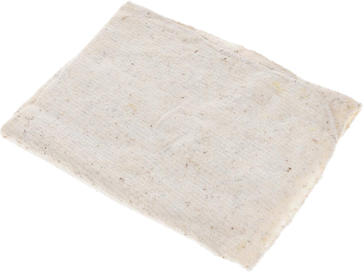 Тряпка для пола LarangE Традиция, оверлоченная, 50 х 60 смSATURN CANCARDТряпка LarangE Традиция выполнена из 100% хлопка и предназначена для мытья напольных покрытий из любых материалов. Эффективно очищает любую поверхность, отлично отжимается и имеет долгий срок службы. Применяется для влажной и сухой уборки.