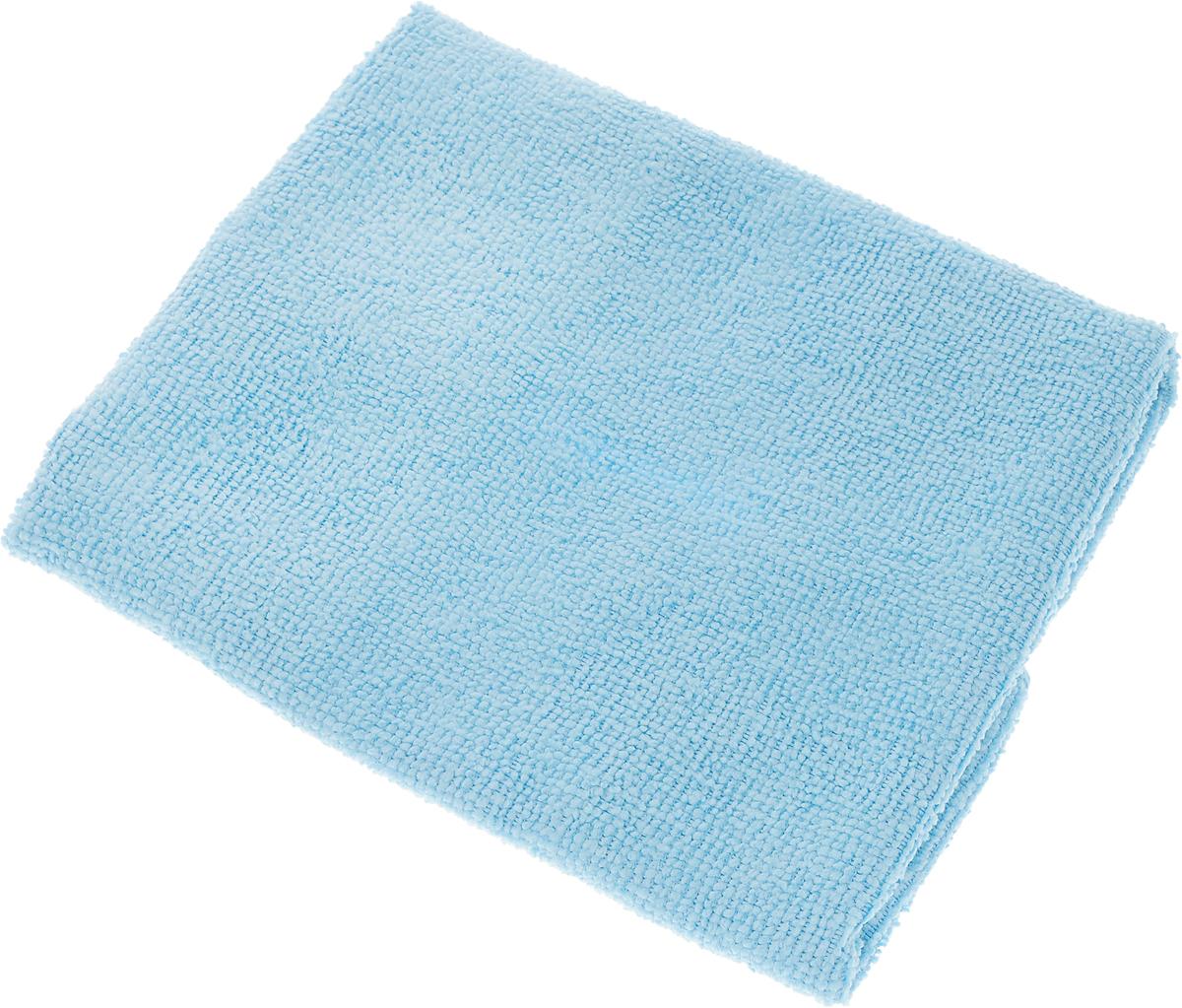 Салфетка LarangE, супервлаговпитывающая, универсальная, цвет: голубой, 30 х 30 смKOC_SOL249_G4Салфетка LarangE, изготовленная из полиамида и полиэфира, предназначена для очищения загрязнений на любых поверхностях. Изделие обладает высокой износоустойчивостью и рассчитано на многократное использование, легко моется в теплой воде с мягкими чистящими средствами. Впитывающая салфетка не оставляет разводов и ворсинок, идеальна для стеклянных и блестящих поверхностей, удаляет большинство жирных и маслянистых загрязнений без использования химических средств. Не царапает поверхность и впитывает гораздо больше воды, чем обычная ткань. Подходит для сухой и влажной уборки. Материал: 20% полиамид, 80% полиэстер.
