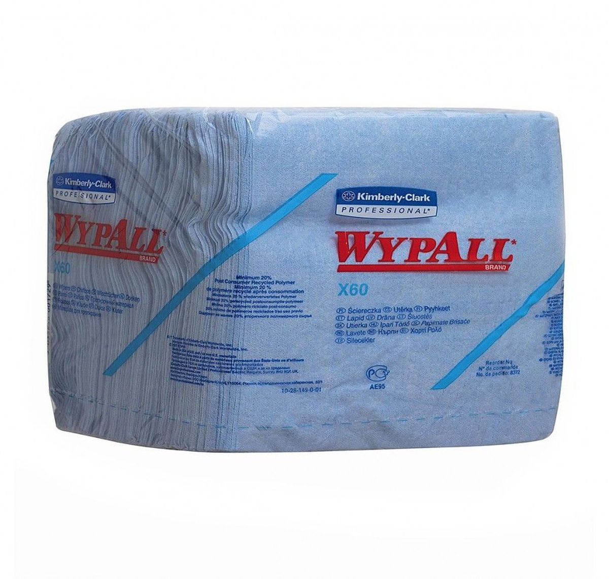 Полотенца бумажные Wypall Х60, 76 шт98299571Бумажные полотенца Wypall Х60 обладают отличной впитывающей способностью, долговечностью и прочностью, как в сухом, так и во влажном состоянии. Полотенца могут использоваться с большинством растворителей, обеспечивают быструю очистку и помогают сократить расходы. Подходят для работы по очистке от клея, масла, мусора, стекол, а также для прецизионной очистки сложных механизмов и деталей.