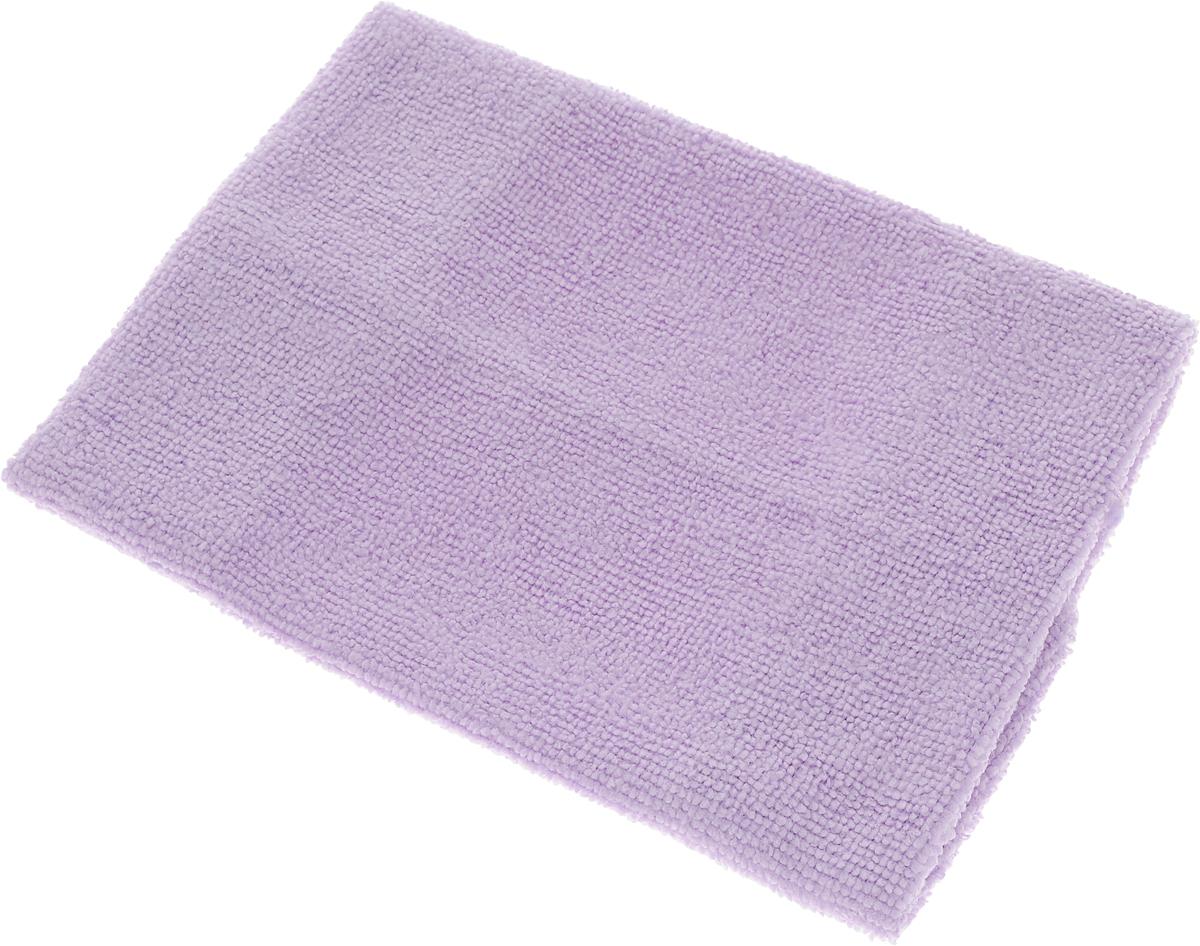 Салфетка LarangE, супервлаговпитывающая, универсальная, цвет: сиреневый, 30 х 30 смVCA-00Салфетка LarangE, изготовленная из полиамида и полиэфира, предназначена для очищения загрязнений на любых поверхностях. Изделие обладает высокой износоустойчивостью и рассчитано на многократное использование, легко моется в теплой воде с мягкими чистящими средствами. Впитывающая салфетка не оставляет разводов и ворсинок, идеальна для стеклянных и блестящих поверхностей, удаляет большинство жирных и маслянистых загрязнений без использования химических средств. Не царапает поверхность и впитывает гораздо больше воды, чем обычная ткань. Подходит для сухой и влажной уборки. Материал: 20% полиамид, 80% полиэстер.