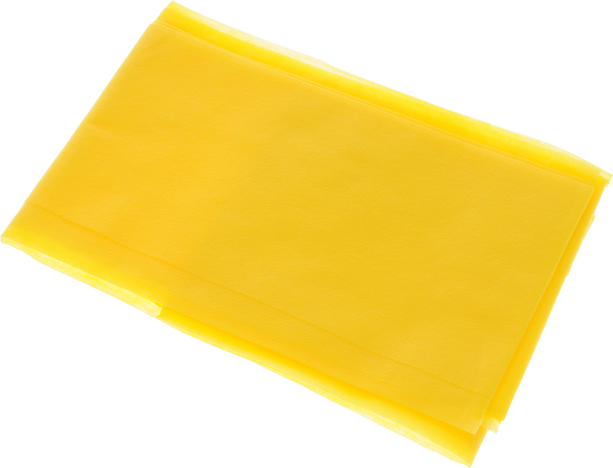 Скатерть LarangE От Шефа. Пикник, одноразовая, цвет: желтый, 110 х 140 смVT-1520(SR)Одноразовая скатерть LarangE От Шефа. Пикник изготовлена из полипропилена. Предназначена для украшения стола, для проведения пикников и мероприятий. Нетканый материал препятствует образованию следов от горячей посуды.Скатерть LarangE От Шефа. Пикник - идеальное решение для дома или дачи.Размер скатерти: 110 х 140 см.