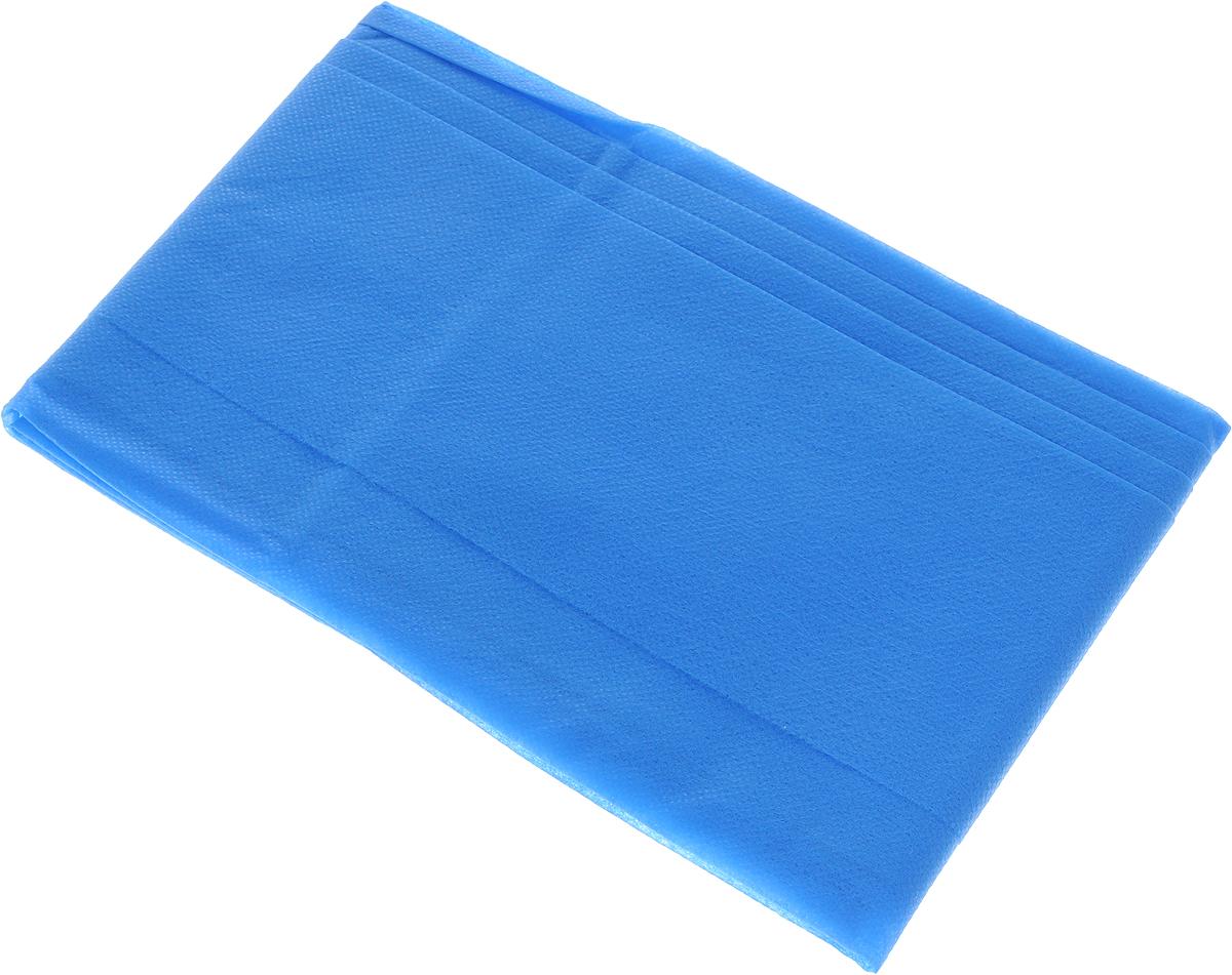 Скатерть LarangE От Шефа. Пикник, одноразовая, цвет: синий, 110 х 140 см87529Одноразовая скатерть LarangE От Шефа. Пикник изготовлена из полипропилена. Предназначена для украшения стола, для проведения пикников и мероприятий. Нетканый материал препятствует образованию следов от горячей посуды.Скатерть LarangE От Шефа. Пикник - идеальное решение для дома или дачи.Размер скатерти: 110 х 140 см.