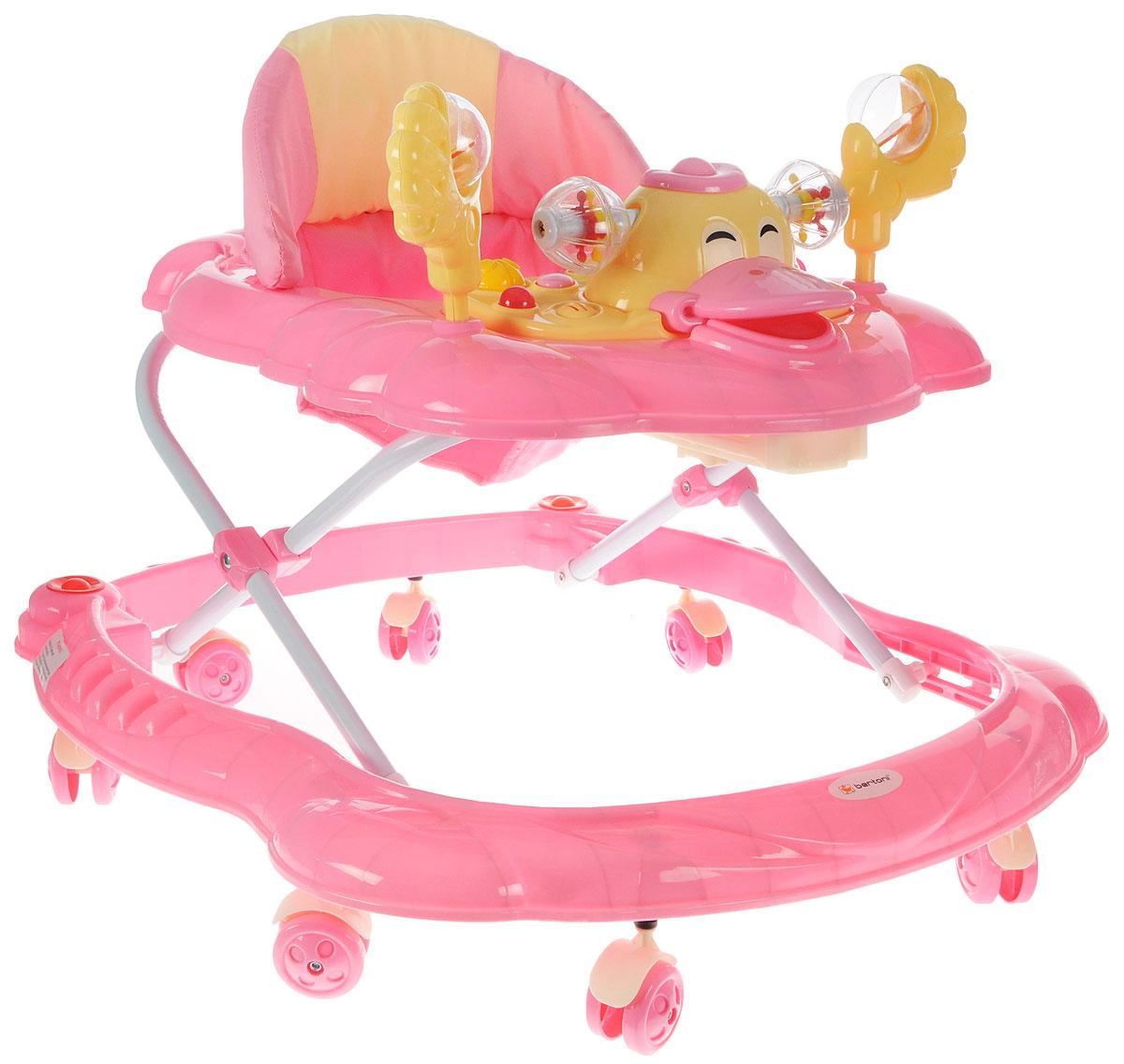 Bertoni Ходунки BW 10 цвет розовый -  Ходунки, прыгунки, качалки