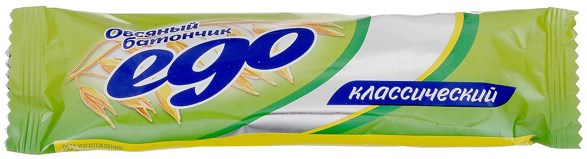 Ego Батончик овсяный Классический, 35 г0120710Овсяный батончик Ego Классический отлично подойдет в качестве легкого и полезного перекуса на каждый день. Продукт содержит множество полезных витаминов и микроэлементов.Уважаемые клиенты! Обращаем ваше внимание, что полный перечень состава продукта представлен на дополнительном изображении.