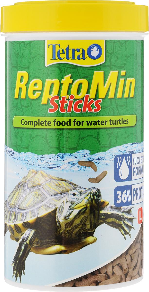 Корм для водных черепах Tetra ReptoMin, палочки, 500 мл (110 г)0120710Корм Tetra ReptoMin - полноценный сбалансированный питательный корм высшего качества для любых видов водных черепах. Поддерживает здоровье, нормальный рост и придает жизненные силы. Оптимальное соотношение кальция и фосфора для формирования твердого панциря и крепких костей. Запатентованная БиоАктив-формула обеспечивает здоровую иммунную систему.Состав: растительные продукты, рыба и побочные рыбные продукты, экстракты растительного белка, дрожжи, минеральные вещества, моллюски и раки, масла и жиры, водоросли. Аналитические компоненты: сырой белок 39%, сырые масла и жиры 4,5%, сырая клетчатка 2%, влага 9%, кальций 3,3%, фосфор 1,3%. Добавки: витамин А 29550 МЕ/кг, витамин Д3 1845 МЕ/кг, Е5 марганец 134 мг/кг, Е6 цинк 80 мг/кг, Е1 железо 52 мг/кг, Е3 кобальт 0,9 мг/кг, красители, антиоксиданты. Товар сертифицирован.