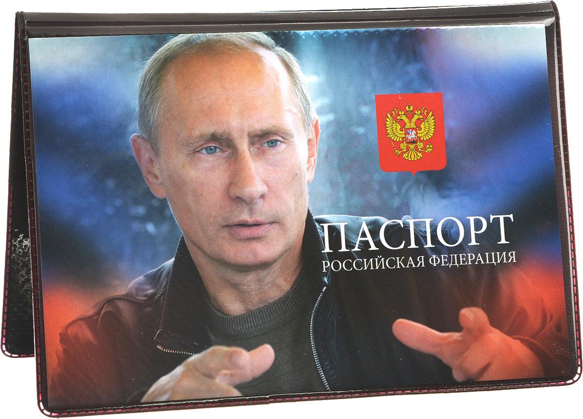 Обложка для паспорта Главдор Путин В.В.. GL-235_вид 23430329Обложка для паспорта Главдор Путин В.В. выполнена из ПВХ. Изделие оформлено изображением В.В. Путина. Внутри расположено 2 прозрачных кармашка для вашего паспорта. Такие обложки предназначены для защиты ваших документов от пыли, грязи и влаги. Они сохранят их целыми и невредимыми.