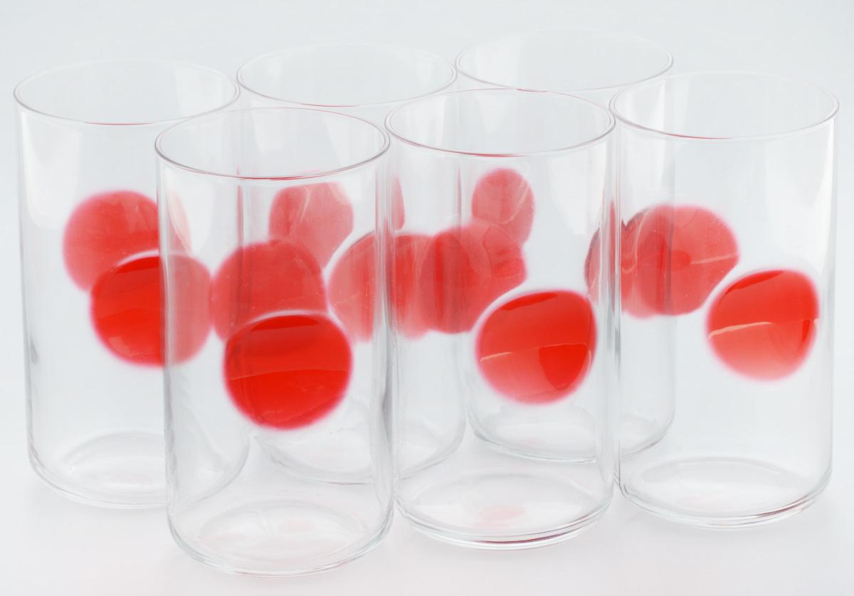 Набор стаканов Bormioli Rocco Джиове, цвет: красный, 6 штVT-1520(SR)Набор Bormioli Rocco Джиове, выполненный из стекла, состоит из 6 высоких стаканов и предназначен для подачи холодных напитков. Изделия имеют оригинальную коллекцию современной формы и необычной геометрии. Набор стаканов Bormioli Rocco Джиове станет идеальным украшением праздничного стола и отличным подарком к любому празднику.Объем стакана: 497 мл.Диаметр стакана по верхнему краю: 7,5 см.Высота стакана: 14,5 см.