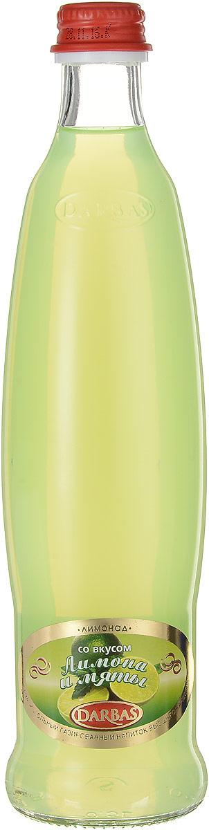 Darbas Лимон-мята лимонад, 0,5 л340026512Лимонад Darbas Лимон-мята - безалкогольный газированный напиток высшего качества. Освежающий и ароматный лимонад утоляет жажду в летние дни, поднимает настроение и дарит легкость.Уважаемые клиенты! Обращаем ваше внимание, что полный перечень состава продукта представлен на дополнительном изображении.