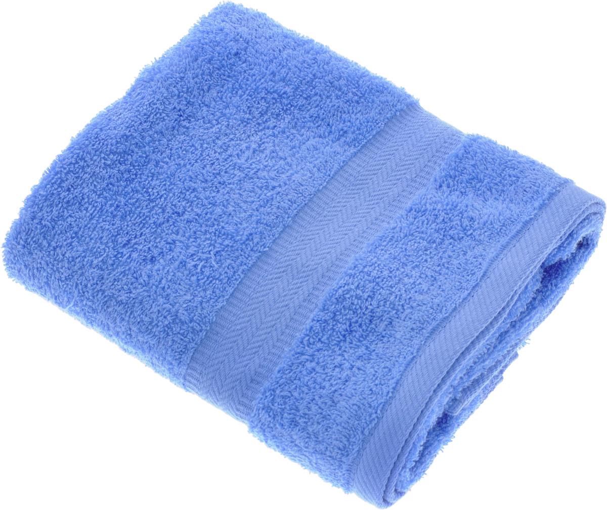 Полотенце Aquarelle Настроение, цвет: синий, 50 х 90 см. 706271391602Полотенце Aquarelle Настроение выполнено из 100% хлопка. Изделие отлично впитывает влагу, быстро сохнет, сохраняет яркость цвета и не теряет форму даже после многократных стирок. Такое полотенце очень практично и неприхотливо в уходе. Оно создаст прекрасное настроение и украсит интерьер в ванной комнате.