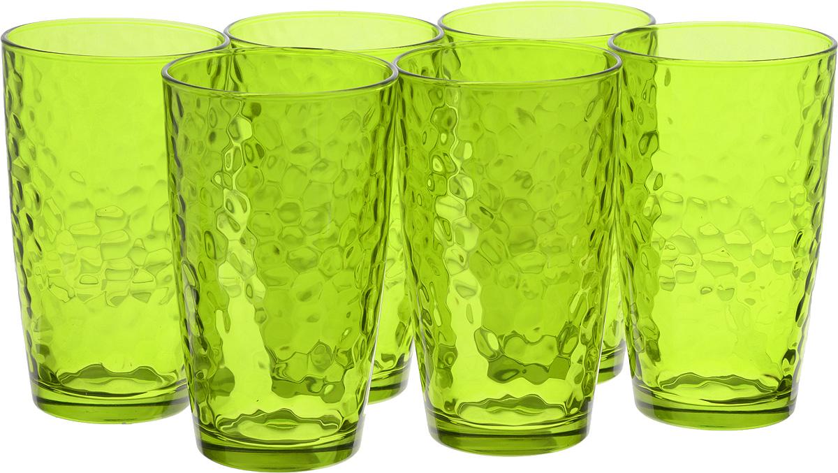 Набор стаканов Bormioli Rocco Палатина, цвет: зеленый, 6 штVT-1520(SR)Набор Bormioli Rocco Палатина выполнен из стекла, состоит из 6 высоких стаканов. Стаканы предназначены для холодных напитков. С внутренней стороны поверхность стаканов рельефная, что создает эффект игры и преломления. Благодаря такому набору пить напитки будет еще вкуснее.Стаканы Bormioli Rocco Палатина станут идеальным украшением праздничного стола и отличным подарком к любому празднику.Объем стакана: 490 мл.Диаметр стакана по верхнему краю: 8,5 см.Высота стакана: 14,5 см.