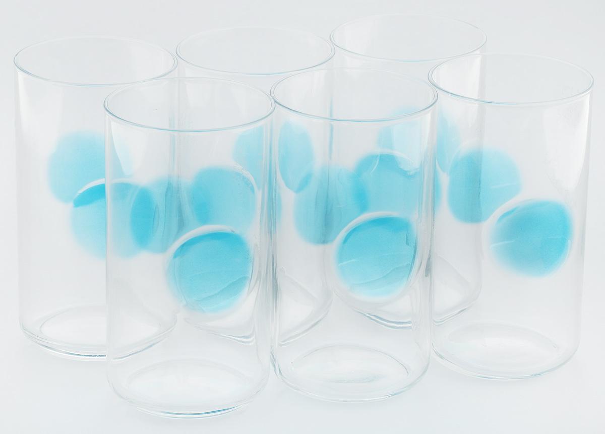 Набор стаканов Bormioli Rocco Джиове, цвет: голубой, 6 штVT-1520(SR)Набор Bormioli Rocco Джиове, выполненный из стекла, состоит из 6 высоких стаканов и предназначен для подачи холодных напитков. Изделия имеют оригинальную коллекцию современной формы и необычной геометрии. Набор стаканов Bormioli Rocco Джиове станет идеальным украшением праздничного стола и отличным подарком к любому празднику.Объем стакана: 497 мл.Диаметр стакана по верхнему краю: 7,5 см.Высота стакана: 14,5 см.