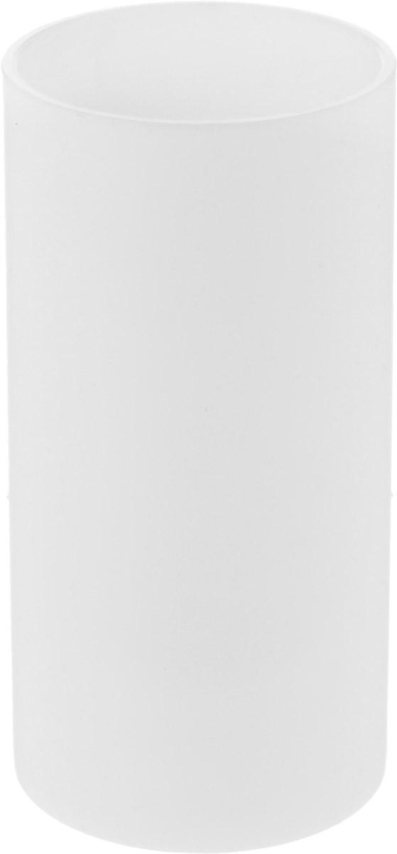 Стакан для зубных щеток Proffi Home, цвет: белый, 440 мл100-49000000-60Стакан Proffi Home - это практичный аксессуар, помогающий навести порядок и организовать хранение разных принадлежностей в ванной комнате. В нем удобно хранить зубные щетки, тюбики с зубной пастой и другие мелочи. Стакан выполнен из полипропилена высокого качества и приятного на ощупь. Пластик отличается легкостью, прочностью и долговечностью. Благодаря лаконичному дизайну такой стакан будет вписываться в любой интерьер ванной комнаты.