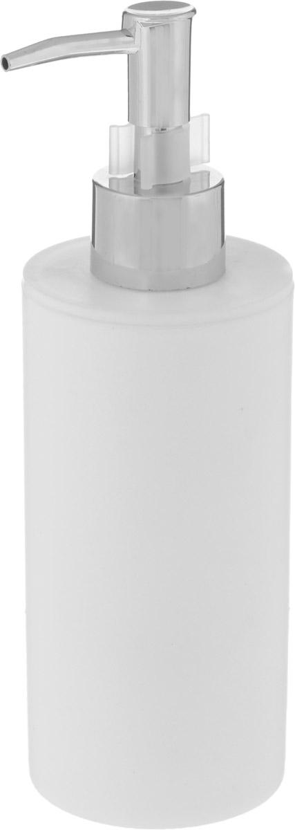 Диспенсер для жидкого мыла Proffi Home, цвет: белый, 450 мл proffi шторка для ванной proffi home жасмин 180х200см