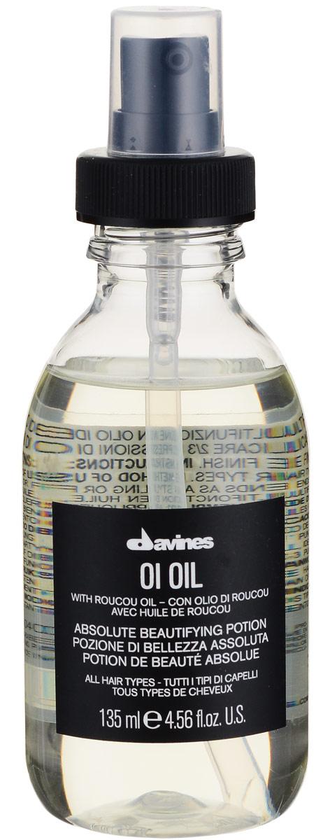 Davines Масло для абсолютной красоты волос Essential Haircare Ol Oil Absolute beautifying potion, 135 млMP59.4DМасло применяется для любого типа волос. Средство покрывает защитной плёнкой каждый волосок, обеспечивая тем самым бережную защиту, не утяжеляет локоны, обладает антиоксидантным эффектом, придаёт волосам блеск и шелковистость. Масло облегчает распутывание и расчёсывание кудрявых волос. В основе средства лежит масло аннатто (Bixa orellana), которое богато бета-каротином.