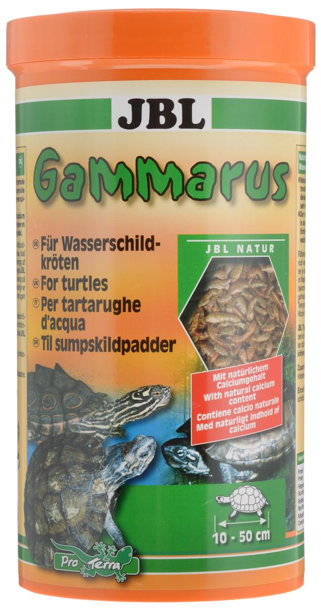 Корм-лакомство JBL Gammarus для водных черепах, 110 г (1 л)0120710Корм-лакомство JBL Gammarus состоит из высушенных по щадящей технологии воздушной сушки и очищенных гаммарусов, которые с особым удовольствием поглощаются всеми водяными черепахами. Состав: моллюски и ракообразные.Аналитический анализ: протеин - 48,6%, жир - 7,6%, клетчатка - 5,9%, чистая зола - 21,8%, кальций - 6%.Товар сертифицирован.