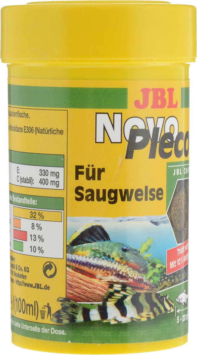 Корм JBL NovoPleco для кольчужных сомов, в форме чипсов, 100 мл (53 г)0120710Корм JBL NovoPleco представляет собой чипсы, изготовленные по специальной технологии, состав которых и консистенция специально подобраны для кормления кольчужных сомов и других донных рыб, питающихся растениями. Корм обеспечивает правильное питание. Быстро погружающиеся в воду чипсы сразу ложатся на дно аквариума, в зону досягаемости для его донных обитателей. Корм предназначен для рыб 5-20 см в длину.Рекомендации по кормлению: 2-3 раза в день столько корма, сколько рыбки могут за 2-3 минуты. Состав: растительные побочные продукты, овощи, злаки, моллюски и ракообразные, водоросли, рыба и рыбные побочные продукты, дрожжи. Товар сертифицирован.