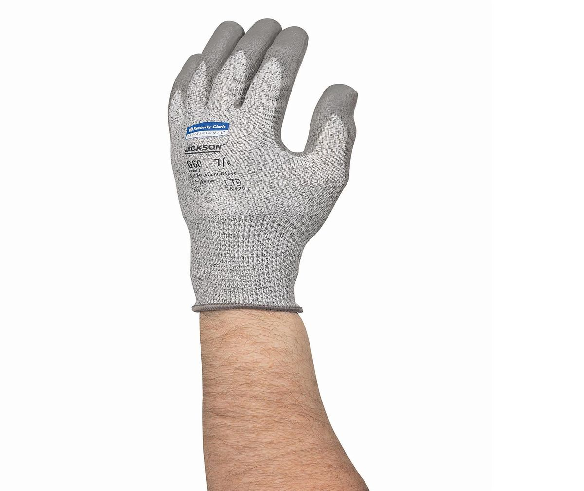 Перчатки хозяйственные Jackson Safety G60, размер 9 (L), стойкость 3, цвет: серый, 12 пар21395599Ассортимент экономичных и долговечных защитных перчаток и нарукавников для условий работы, при которых существует риск порезов или защемления рук и предплечий работника. Идеальное решение для работ с острыми краями, участков металлообработки, работ со стеклом или картоном, а также сборочных операций в автомобилестроении; СИЗ категории II (CE Intermediate), 3-й уровень защиты от порезов и высокий уровень стойкости к истиранию (4 - EN 388); превосходная защита от порезов и защемлений благодаря использованию патентованного материала Dyneema® со стальной нитью; соответствуют нормам EN420 по минимальной длине манжеты для защиты запястья; отличная воздухопроницаемость и отвод тепла.Формат поставки: пара не содержащих латекс перчаток; индивидуальный дизайн для левой и правой руки; возможность стирки, пять размеров с цветовой кодировкой манжет.Размер:13823 - S (7)13824 - M (8)13825 - L (9)13826 - XL (10)13827 - XXL (11)