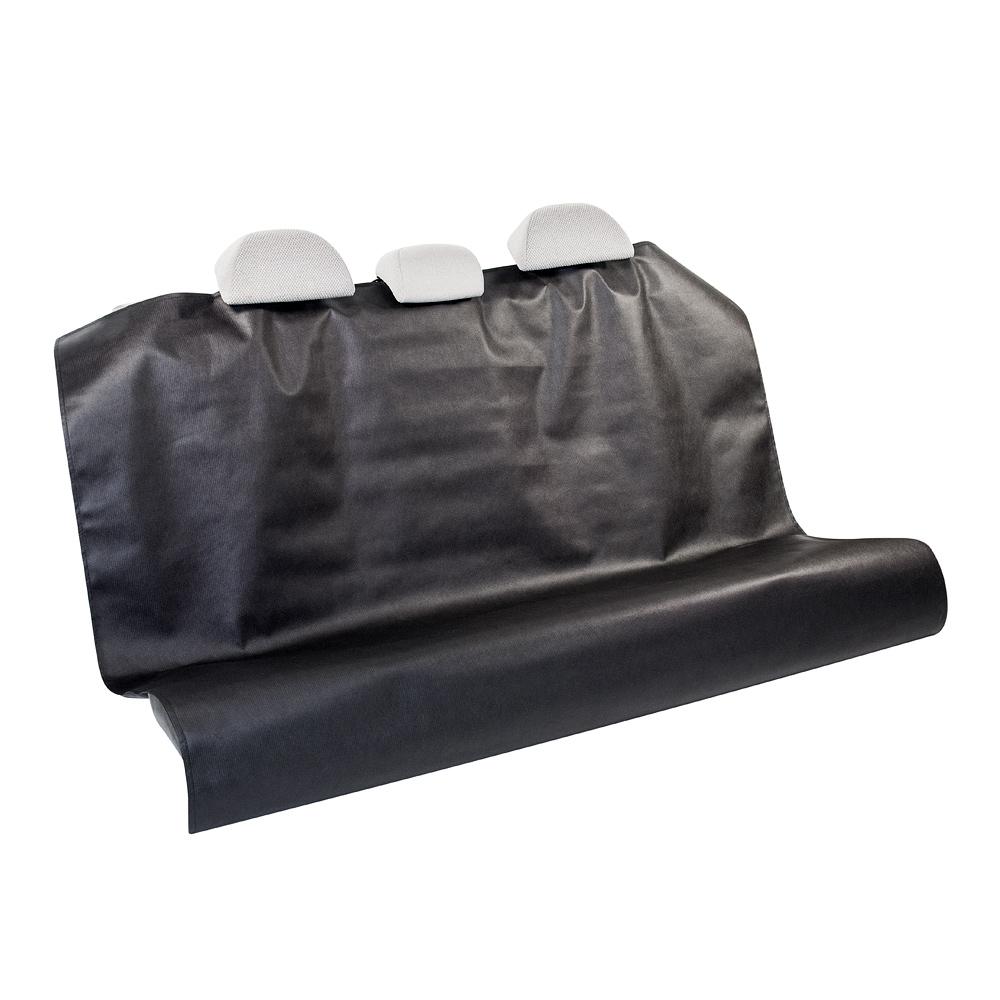Накидка защитная на заднее сиденье Много Везу, 160 х 130 см. М 1191CA-3505Накидка Много Везу защитит заднее сиденье автомобиля от различных повреждений и загрязнений при перевозке груза. Накидка устанавливается с помощью липучек быстро и просто за 20 секунд. Особенности:- Легкая и быстрая установка за 20 секунд- Подголовники снимать не нужно- Универсальный размер- Полностью закрывает сиденьеРазмер (ШхД): 160 х 130 см. Материал: спанбонд (плотность 100 г/м2).