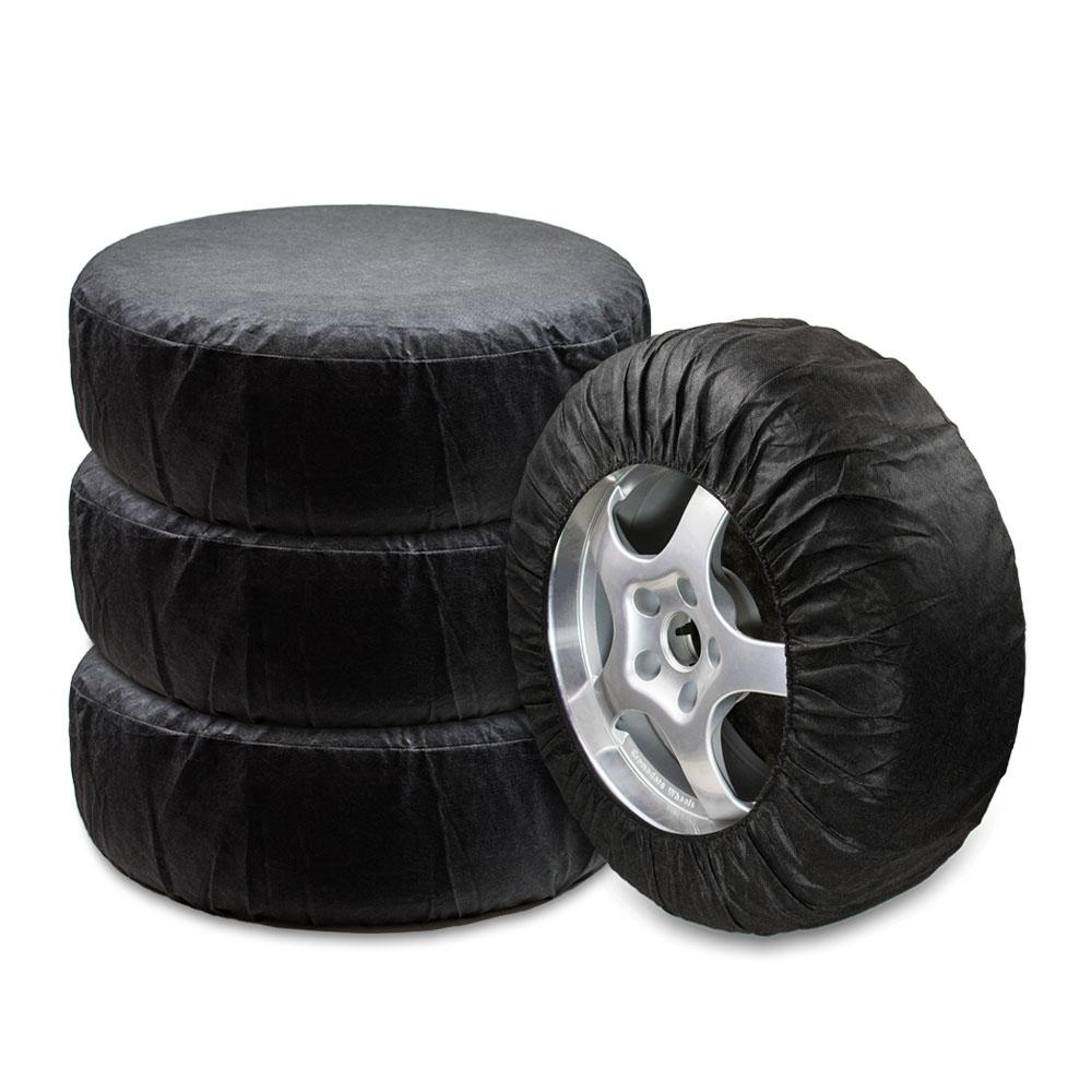 Чехлы для хранения автомобильных колес Много Везу, от 13 до 16, 4 штВетерок 2ГФКомплект Много Везу состоит из 4 многоразовых чехлов для автомобильных колес. Чехлы изготовлены из нетканого материала спанбонд, который отлично пропускает воздух, благодаря чему шины не будут преть, а диски ржаветь или окисляться. Чехлы плотно облегают колесо и одеваются за 20 секунд. Диаметр колес: 13-16. Размеры: ширина -30 см, диаметр - 68 см. Материал: спанбонд (плотность 100 гр/м2).