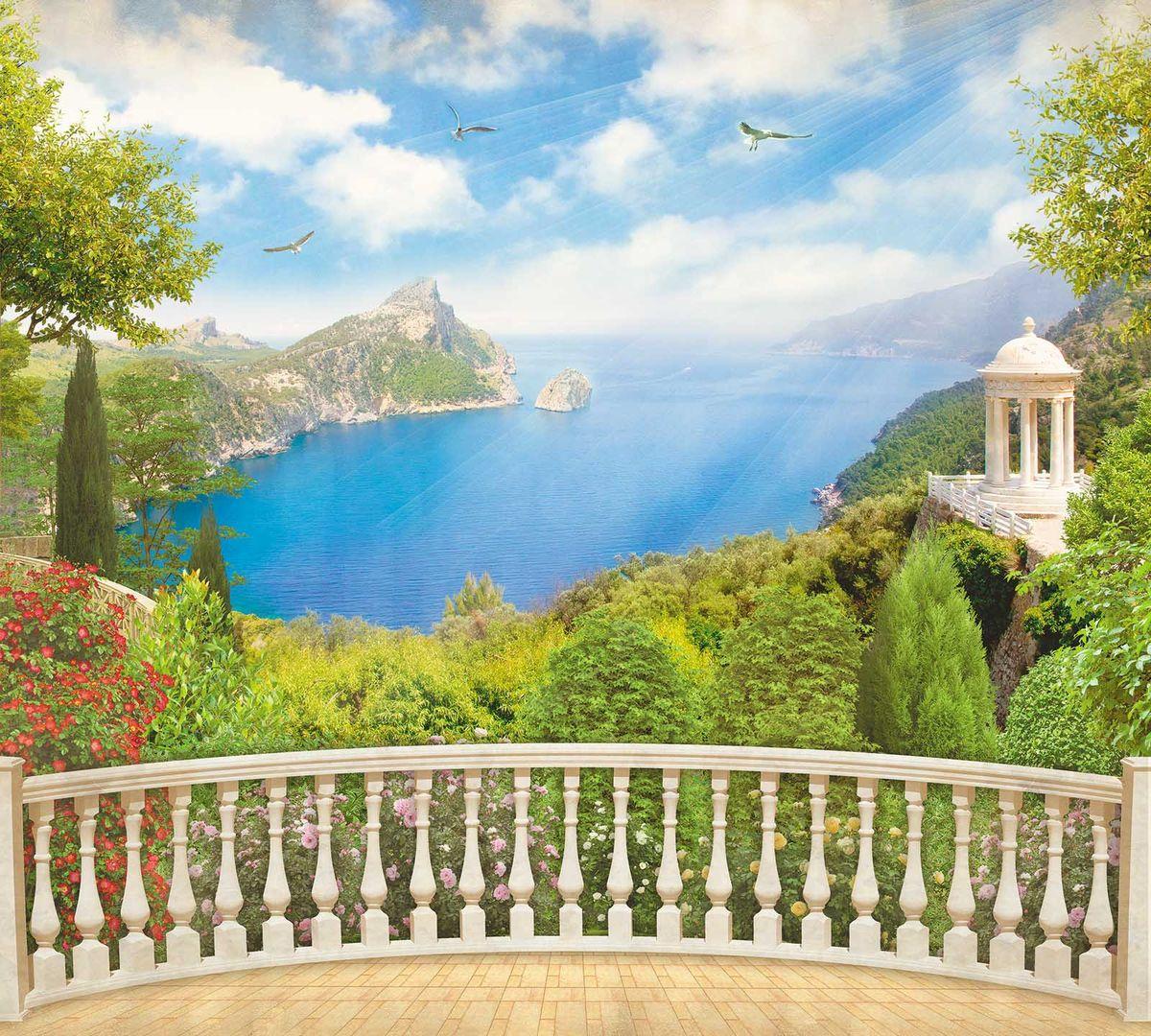 Фотообои Milan Вид с балкона, текстурные, 300 х 270 см