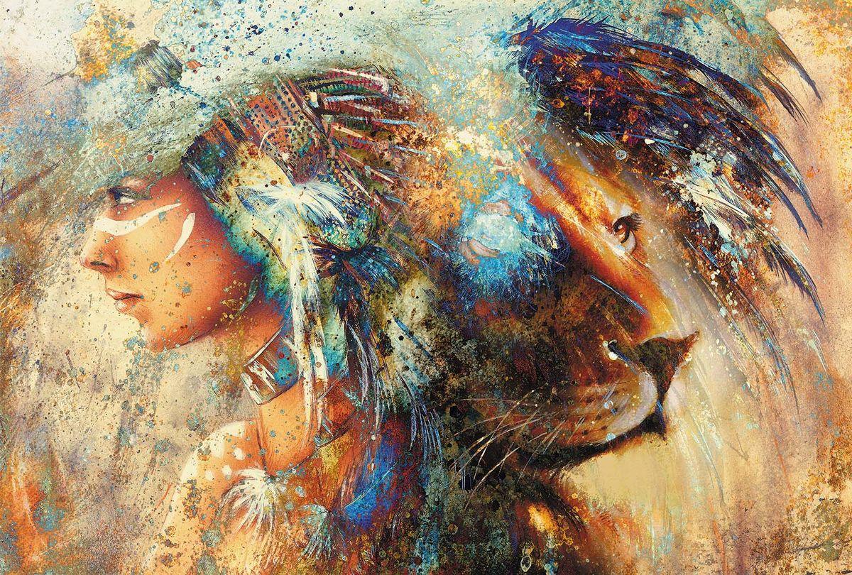 Фотообои Milan Женщина-лев, 200 х 135 см25051 7_желтыйФотообои Milan Женщина-лев позволят создать неповторимый облик помещения, в котором они размещены. Фотообои наносятся на стены тем же способом, что и обычные обои. Благодаря превосходной печати и высококачественной флизелиновой основе такие обои будут радовать вас долгое время. Фотообои снова вошли в нашу жизнь, став модным направлением декорирования интерьера. Выбрав правильную фактуру и сюжет изображения можно добиться невероятного эффекта живого присутствия.