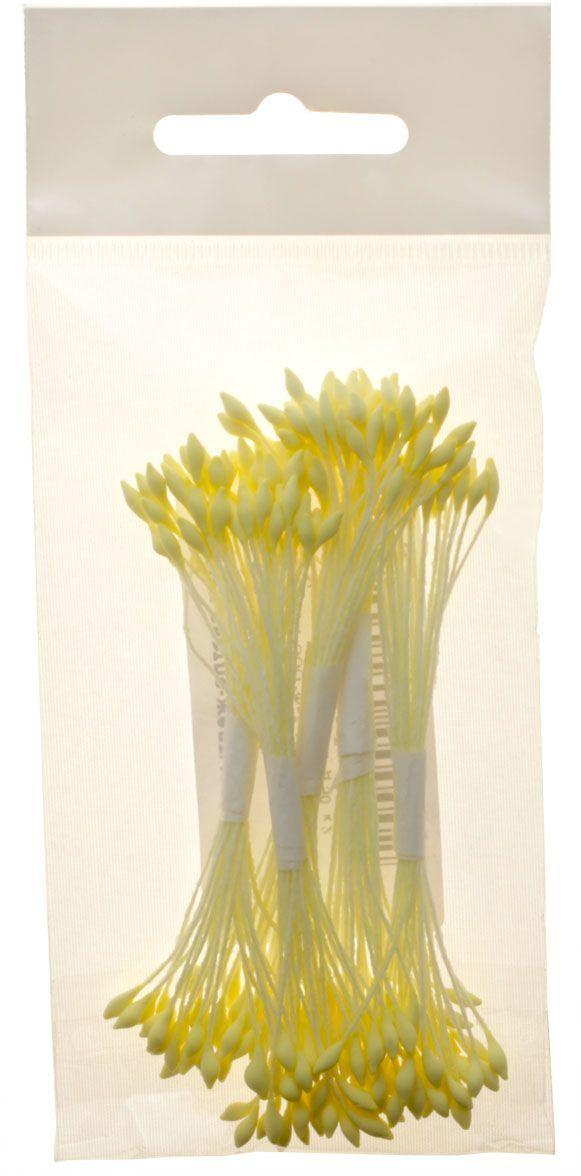 Тычинки Fleur, цвет: светло-желтый, 5 пучков. Т-0024C0038550Используются при создании сердцевинок цветов